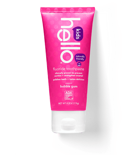 Find out product details for our natural bubblegum flavored toothpaste for kids.