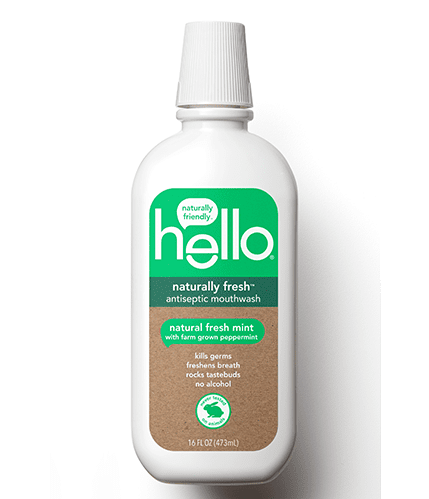 Hello Naturally Fresh Antiseptic Mouthwash