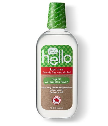 Find out product details for our fluoride free organic watermelon mouthwash for kids.