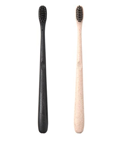 Learn about our toothbrushes made from recyclable materials.