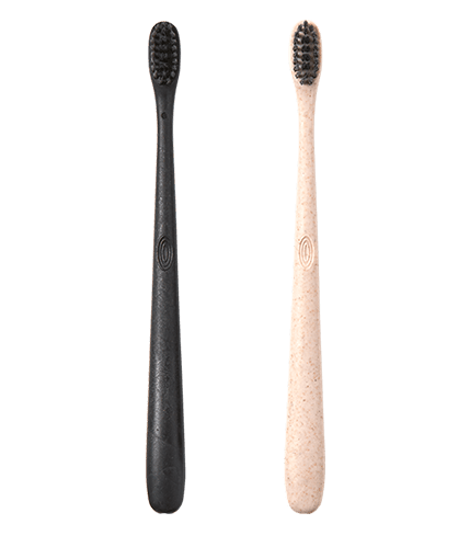 Learn about our organic toothbrushes made from recyclable materials.