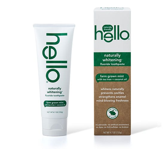 Natural Whitening Toothpaste With Fluoride Hello Products