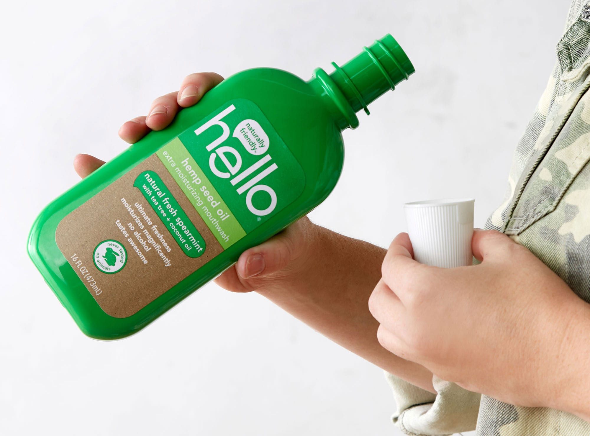 hemp mouthwash