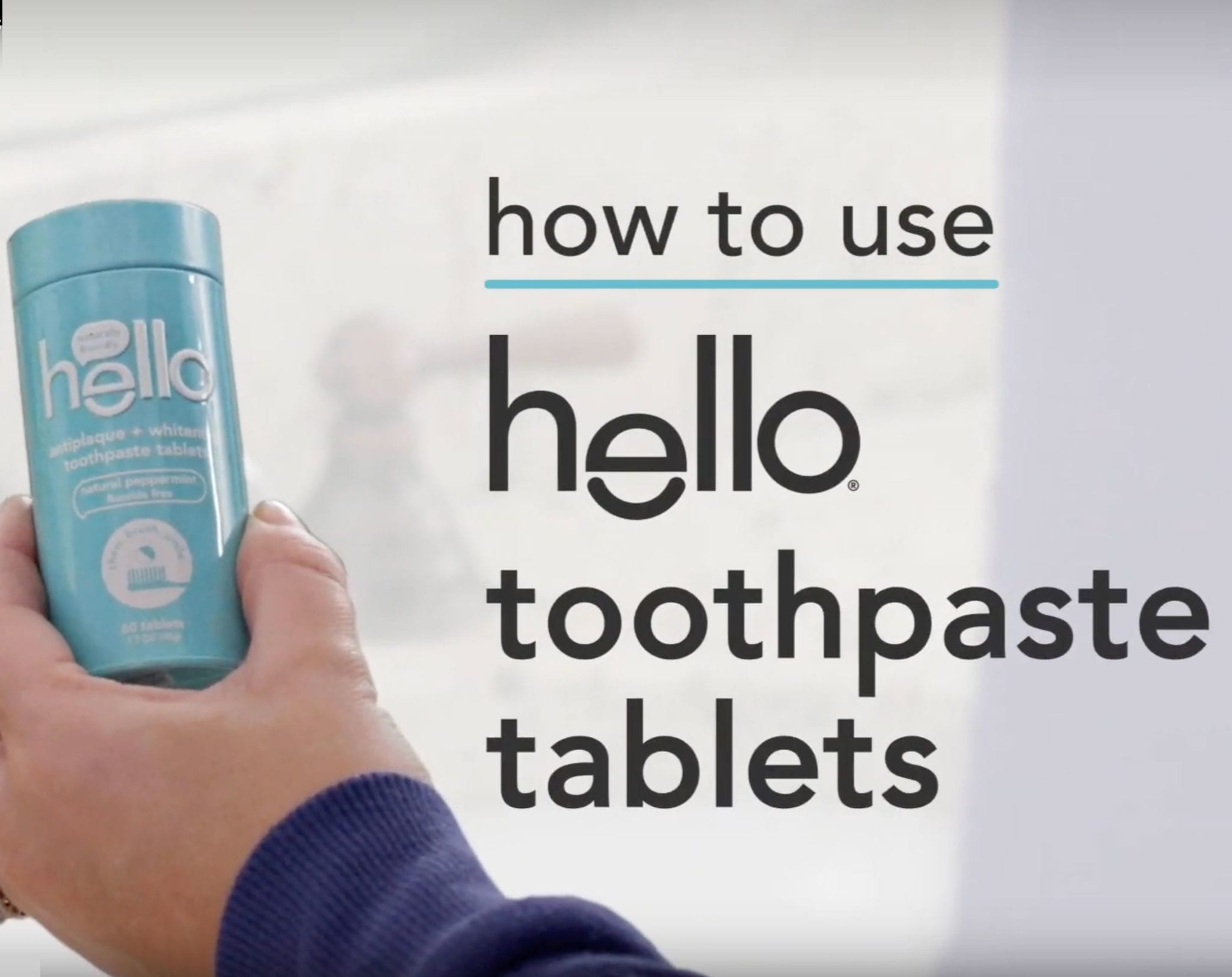 how to use toothpaste tablets