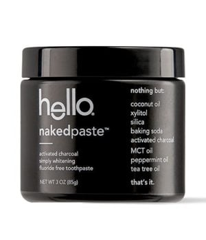 charcoal naked paste