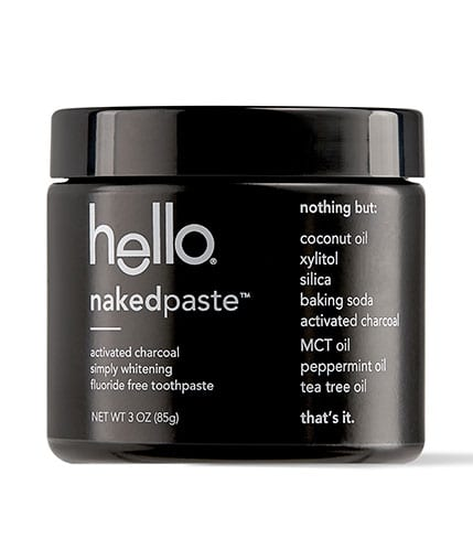 Hello Nakedpaste Charcoal Toothpaste