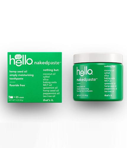 Hello Nakedpaste Hemp Seed Oil Toothpaste