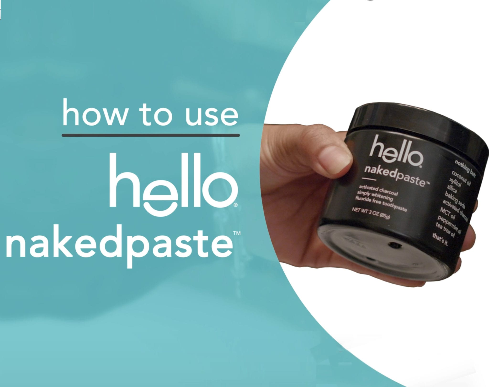 how to use naked paste