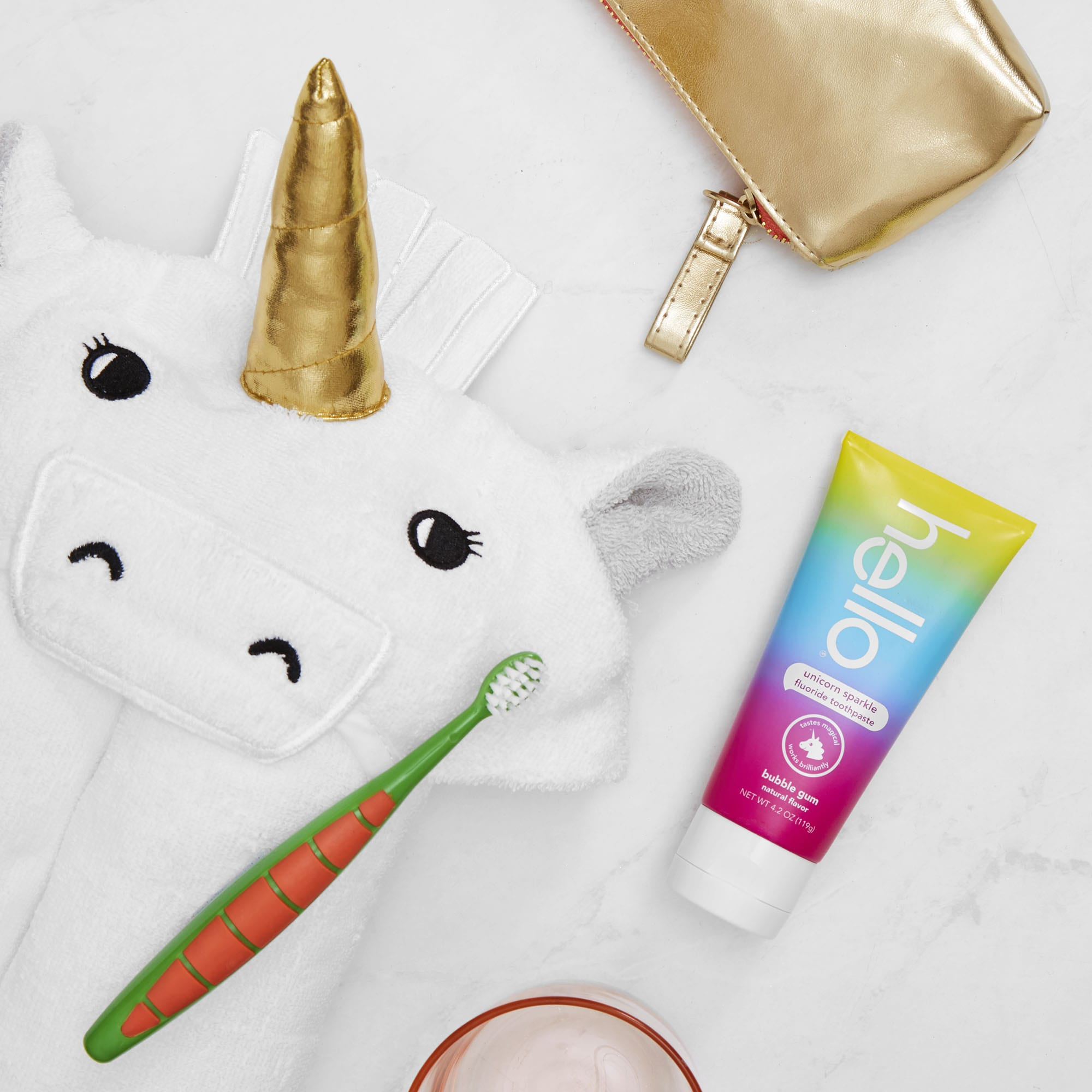 Unicorn Sparkle toothpaste
