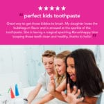 unicorn toothpaste and toothbrush