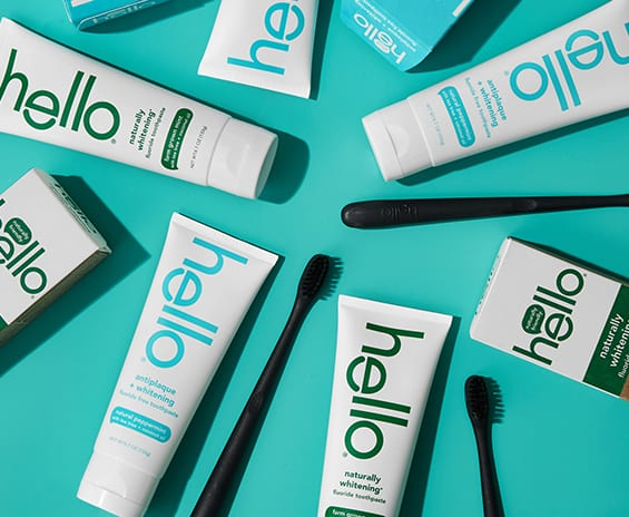 toothpastes from hello