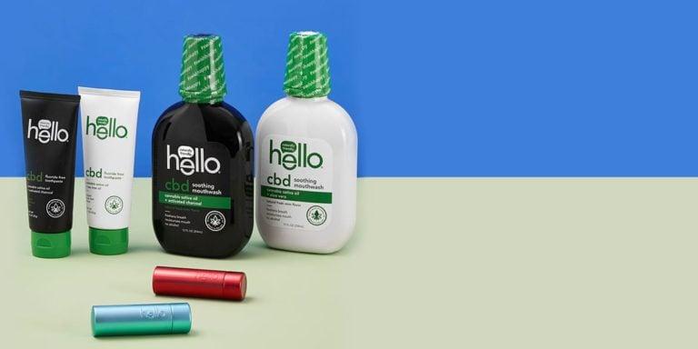 hello CBD line of products