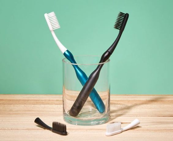 hello replaceable head toothbrushes